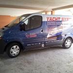 wrapping - decorazione integrale furgone aziendale