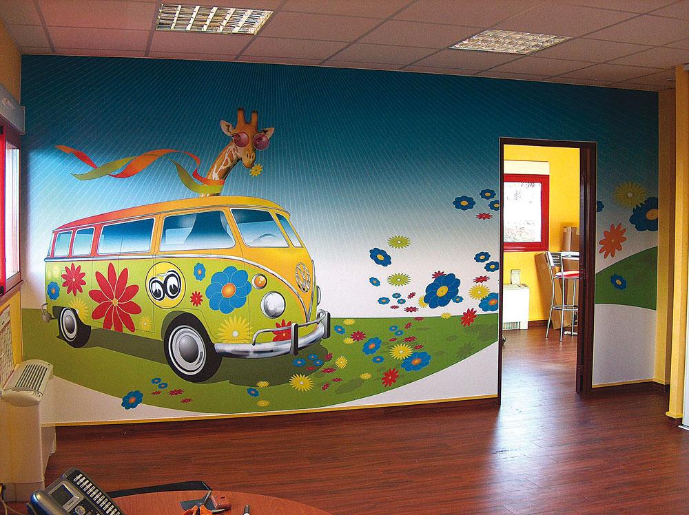 Adesivi murali - Decorazioni murali per interni ...
