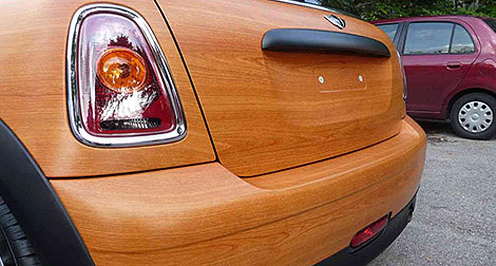 Car wrapping o rivestimenti adesivi per automezzi for Adesivi per legno