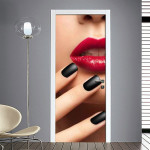 Adesivi per porte nails makeup