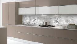 Pannello decorativo paraspruzzi parete retro cucina
