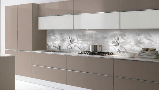 Fotomurali per pareti come ampliare lo spazio in una stanza - Pannelli per retro cucina ...
