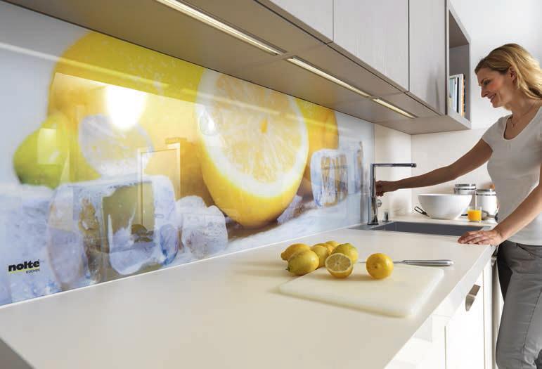 Fotomurali per pareti come ampliare lo spazio in una stanza - Pannelli per cucina ...