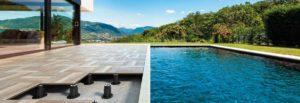 Pavimenti galleggianti per esterni