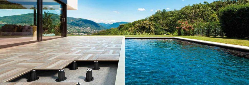 Rivestimenti adesivi per la decorazione - Pavimenti galleggianti per esterni ...