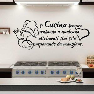 Stencil per cucina in vendita online su decoro e arredo